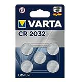 VARTA Batterien Electronics CR2032 Lithium Knopfzelle...