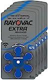 RAYOVAC Hörgeräte-Batterien 675 Extra Advanced 1,45V...