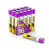 GP Extra Alkaline Batterien AAAA (Mini / LR61) Spannung...