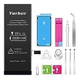 Akku für iphone 6s 2200mAh, Yarber hohe Kapazität mit...