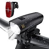 LIFEBEE LED Fahrradlicht Set, LED Fahrradbeleuchtung...