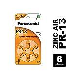 Panasonic PR13 Zink-Luft-Batterien für Hörgeräte,...