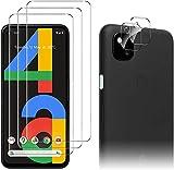 Luibor für Google Pixel 4a Panzerglas (3 Stück) +...