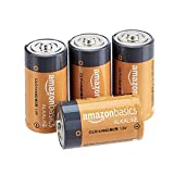 AmazonBasics Everyday Alkalibatterien, 1,5 V, 4 Stück...