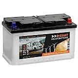 EXAKT Solarbatterie 120Ah 12V Wohnmobil Antrieb...
