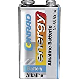 Conrad energy 6LR61 9 V Block-Batterie Alkali-Mangan 9...