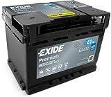 EXIDE EA602-LB2 Premium STARTERBATTERIE 12V 60AH 600A