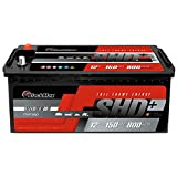 BlackMax LKW Batterie 150Ah anstatt 120Ah 135Ah 140Ah...