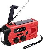 Kurbelradio Outdoor Radio mit 2000mAh Batterie, Topsics...