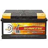 Solarbatterie 12V 120Ah Adler Wohnmobil Verbraucher...