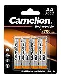Camelion 17027406 Akku (NiMH, R6, Mignon, AA, 2700 mAh,...