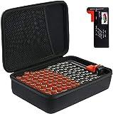 Khanka Batterie Aufbewahrungsbox Organizer mit...