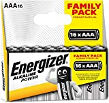 Energizer Batterien AAA, Alkaline Power, 16 Stück