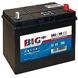 BIG ASIA Autobatterie 12V 45Ah Starterbatterie 54584...