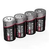 Ansmann Batterien Baby C LR14 4 Stück 1,5V - Alkaline...