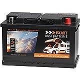 EXAKT AGM Solar Batterie Photovoltaik Wohnmobil Boot...