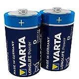 VARTA Longlife Power D Mono LR20 Batterie (2er Pack)...