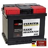 LANGZEIT Autobatterie 12V 54Ah ersetzt 44AH 45AH 46AH...