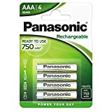 Panasonic P03E/4BC Rechargeable EVOLTA micro AAA...