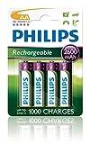 Philips Multi Life NiMH Akku AA Mignon 2600 mAh 4er...