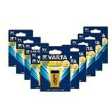 Varta 4122 10er-Pack Batterie Alkaline E Block für...