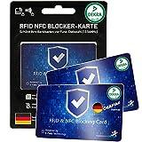 DEKRA gepr. RFID Blocker Karte Ultra dünn 0,8mm I...