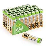GP Batterien Micro AAA LR03 Vorratspack 40 Stück in...