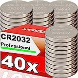 kraftmax 40er Pack CR2032 Lithium Hochleistungs-...