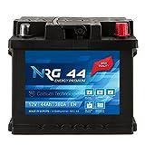 NRG Premium Autobatterie 12V 44Ah ersetzt 36AH 40AH...