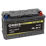 BaSBa Gel BG100DC Versorgungsbatterie Solarbatterie...
