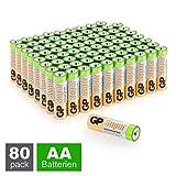 GP Batterien AA (Mignon, LR6) 1.5V, 80 Stück...