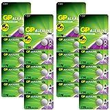 GP Extra LR44 Knopfzelle Alkaline, 20 Stück Batterien...
