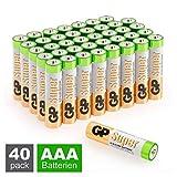 GP Batterien AAA (Micro, LR03) 1.5V, 40 Stück...