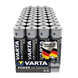 VARTA Power on Demand AA Mignon Batterien - 40er Pack...