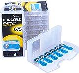 60 Duracell Activair Hearing Aid Batterien Gr. 675...