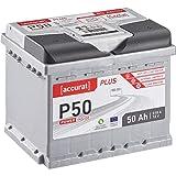 Accurat Autobatterie P50 Plus-Serie 12V 50Ah 510A...