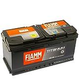 Fiamm, Auto-Batterie, L6110, Titanium, 110 Ah, 950 A,...
