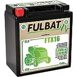 Fulbat - Rasenmäher Batterie YTX16 / YTX16-BS 12V 14Ah...