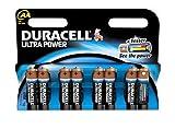Duracell Batterie Ultra Mignon-AA (LR6) 1,5V im 8er...