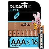 Duracell Ultra AAA Micro Alkaline Batterien LR03, 16er...