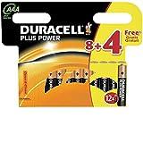Duracell Batterie Plus Power Micro AAA 8er + 4 gratis...