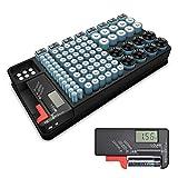 GCSJ 2in1-Batterie-Organizer Batterie Aufbewahrung...