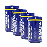 Varta Batterie 4er-Pack Varta Industrial 4020 Alkaline...