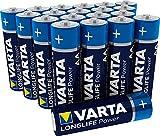 VARTA Longlife Power AA Mignon LR6 Batterie (20er Pack)...