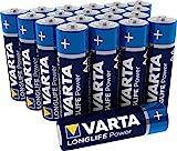 Varta Longlife Power AA Mignon LR6 Batterie (Alkaline,...
