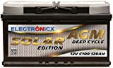 Solarbatterie 12V 120AH Electronicx Solar Edition AGM...