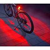 FISCHER Twin Fahrrad-Rücklicht mit 360° Bodenleuchte...