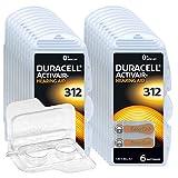 120x Duracell Activair 312 Hörgerätebatterien, 20x6er...