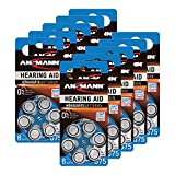 ANSMANN Hörgerätebatterien 675 blau 60 Stück - Zink...