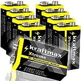 kraftmax 8er Pack Xtreme 9V Block Hochleistungs-...